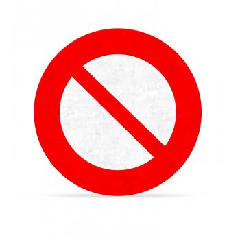 Arrêté interdisant la circulation sur le Chemin des Cavaliers