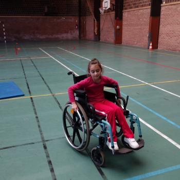 Les écoliers sensibilisés aux handicaps