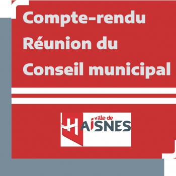Compte-rendu - réunion du Conseil municipal - 25/07/2020