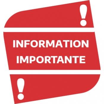 Information - Covid -19 - Fermeture des équipements municipaux